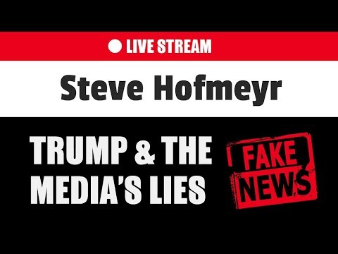 Steve Hofmeyr - The media's lies | Donald Trump on South Africa