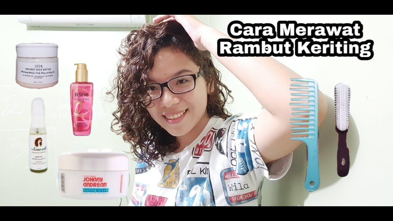 CARA MERAWAT RAMBUT KERITING - YouTube