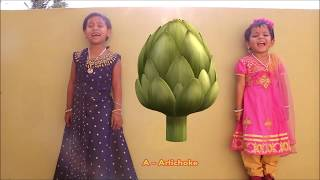 Vegetables Name in English for Kids with Images A to Z