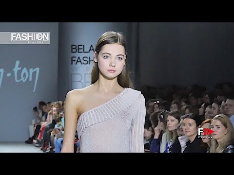 TON-IN-TON Belarus Fashion Week Fall 2018 2019 - Fashion Channel