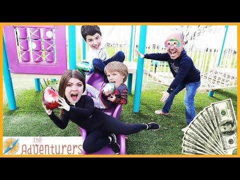 Groundies Temptations - On The Playground / That YouTub3 Family | The Adventurers