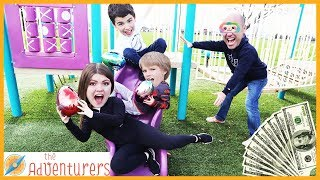 Groundies Temptations - PLAYGROUND WARS! / That YouTub3 Family | The Adventurers