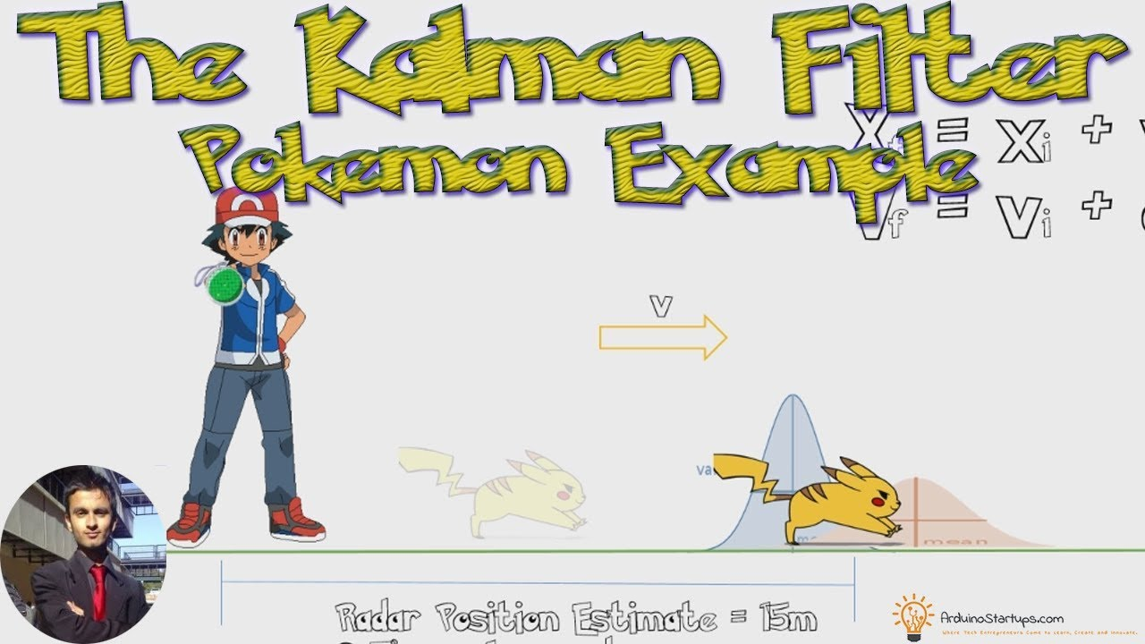 Why You Should Use The Kalman Filter Tutorial - Pokemon Example