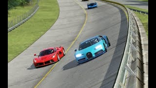 Download Bugatti Chiron vs McLaren P1 vs Ferrari LaFerrari vs Ferrari FXX-K at Monza Full Course 1966 Mp3 and Videos
