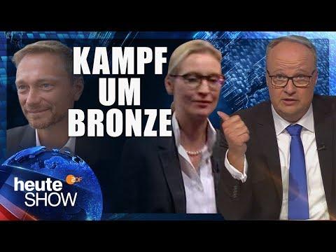 FDP oder AfD - wer wird drittstärkste Kraft im Bundestag? | heute-show vom 08.09.2017