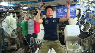 European Space Station Crew Member Discusses Life in Space with Italian Media