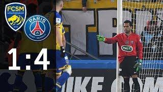 Kevin Trapp sieht rot: FC Sochaux - Paris Saint-Germain 1:4 | Highlights | Coupe de France | DAZN