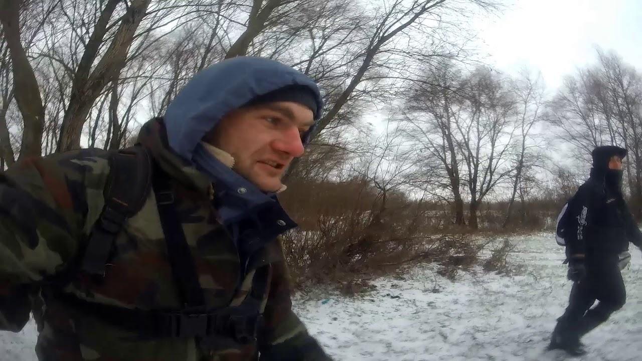 Что же жрет судак зимой??? Зимний Джиг с берега р.Десна