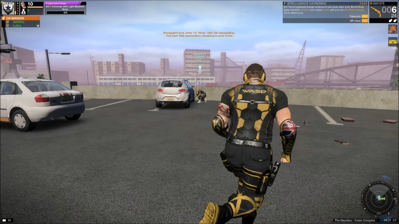 Apb Reloaded Wasp Gameplay Oca Vip Mission Joker Wasp Commander