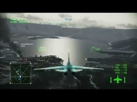 Ace Combat Infinity: Campaign Mission 3 Rescue ( PS3 / 1080p )