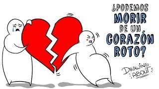 ¿PUEDES MORIR POR TENER EL CORAZÓN ROTO? 💔 | Draw My Life con Glóbulo Azul