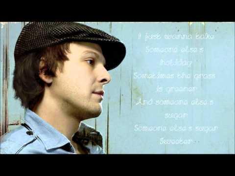 Gavin Degraw- Sweeter Lyrics