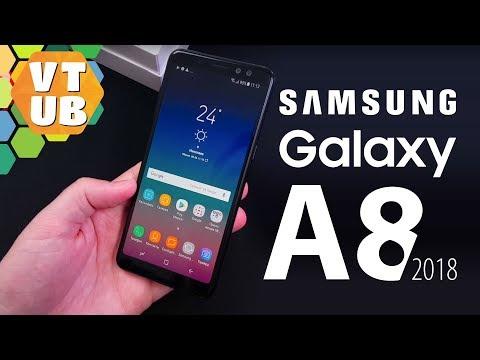 Samsung Galaxy A8 4/32gb Black Распаковка и Знакомство