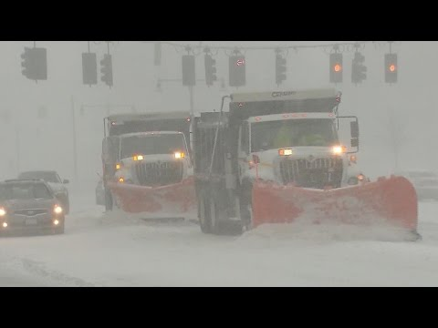 Northeast cleans up after huge snowstorm