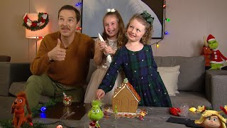 Watch Benedict Cumberbatch Decorate a Gingerbread House With ET's Kid Reporters!