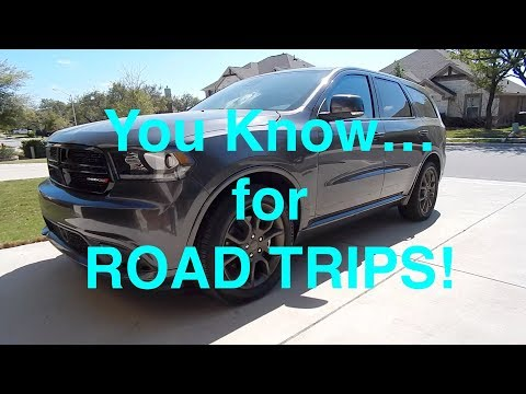 2017 Dodge Durango RT - GREAT for Road Trips
