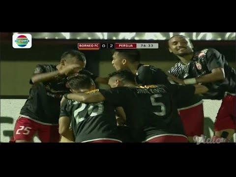 Piala Presiden 2018: BORNEO FC (0) VS PERSIJA JAKARTA (2) - Highlight Peluang dan Goal