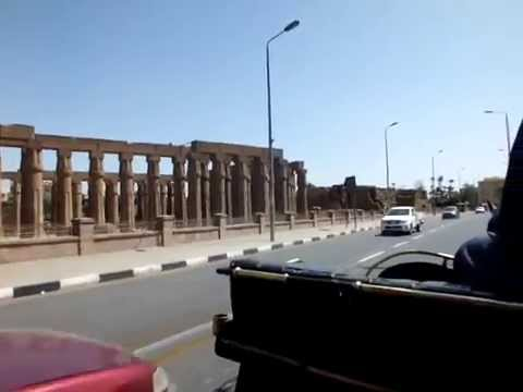 Luxor Cornice to the Railway station