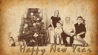 Новогодняя студийная семейная фотосессия Ирины и ее дружной семьи.(, 2015-12-24T14:17:08.000Z)