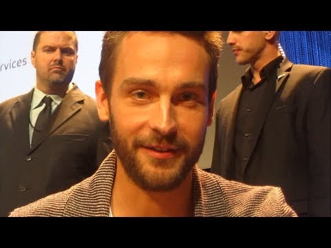 Tom Mison with  at Sleepy Hollow Paleyfest 2014