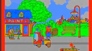 Richard Scarry's Huckle aฑd Lowly's Busiest Day Ever Sega Pico