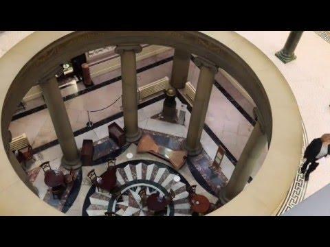 Foucault pendulum at the Harris Museum