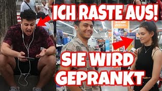 😡RAGE in town in front of many people because of Fortnite😂 If you are an OG SKIN.. Fortnite German