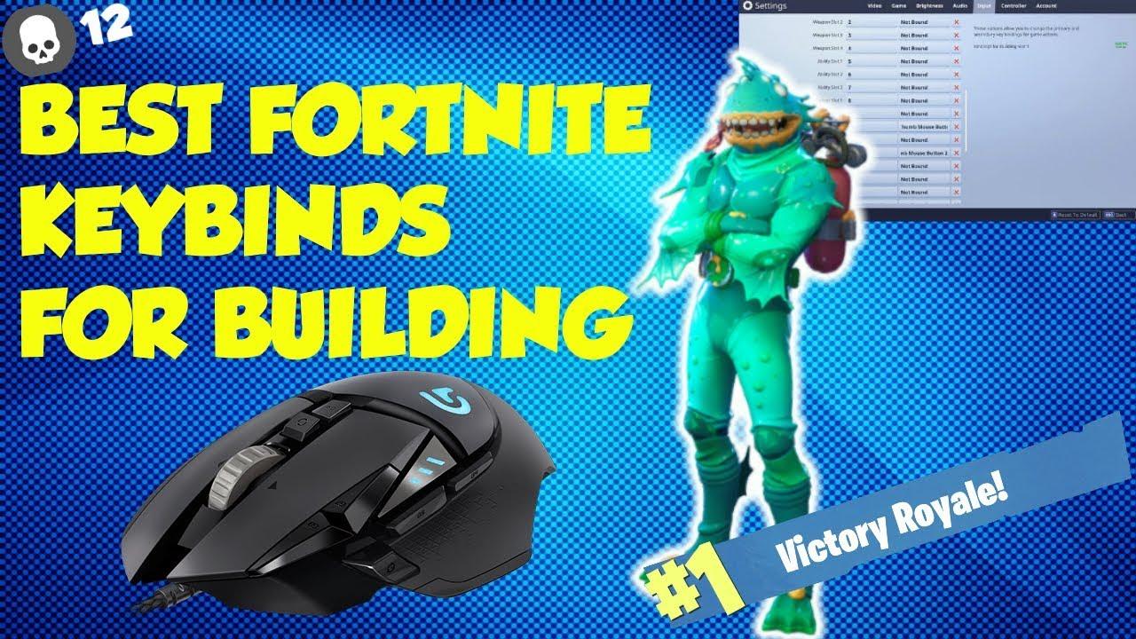 Best Keybinds For Building In Fortnite Advanced Fortnite Tips