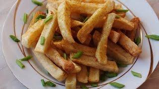 Как сделать картофель ФРИ дома
