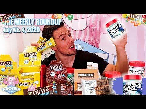 This Week in the Mix July Wk 4 2020 in the Mix   Mars M&M's Hi-Protein Bars, GHOST GLOW and more!