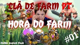 Hora do Farm com Dilma - Clã de Farm PT - bradock Clash - Clash Of Clans