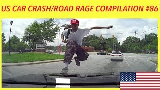 🇺🇸 [US ONLY] AMERICAN CAR CRASH/ROAD RAGE COMPILATION #86