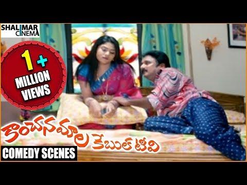 Kanchanamala Cable TV Movie || Krishna Bhagavaan Comedy Scenes Back To Back