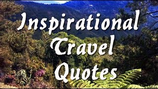 Inspirational Travel Quotes 1