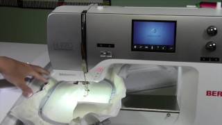 Bernina 770 122 Sewing with Embroidery Module Connected