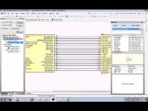 Hướng dẫn sử dụng Altium Designer - P3.flv