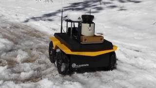 Jackal UGV Research Robot - Clearpath