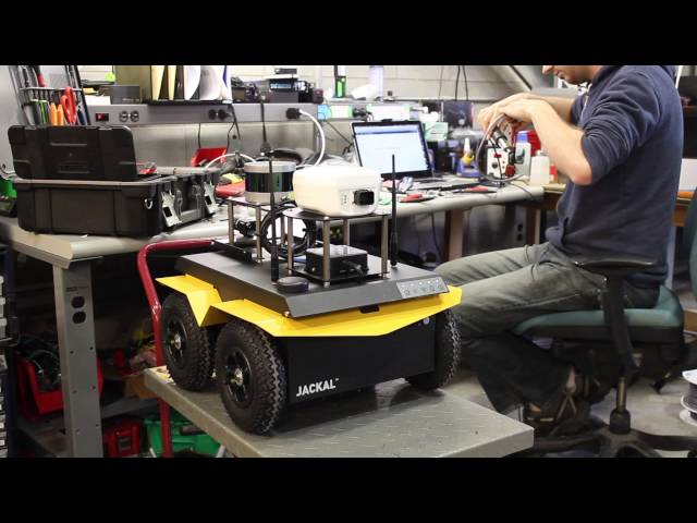 Jackal UGV Research Robot