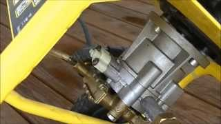 Karcher 2200 IB Pressure Washer Bypass Valve Repair/Replace