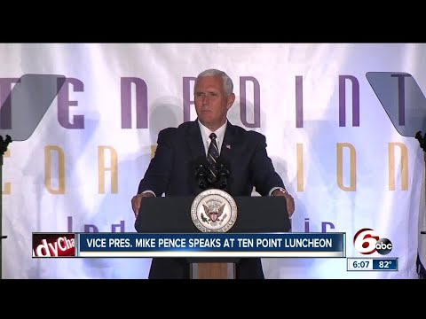 VP Pence: Ten Point Coalition 'literally works miracles'