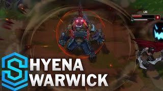 Hyena Warwick (2017 Rework) Skin Spotlight - Pre-Release - League of Legends