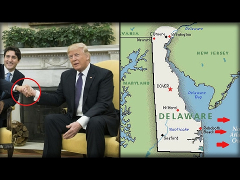 ALERT: WHILE MEDIA ATTACK TRUMP HANDSHAKE, OFFICIALS SPOT THIS OFF DELAWARE COAST