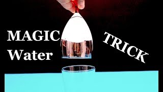 How to make Magic Water Trick!