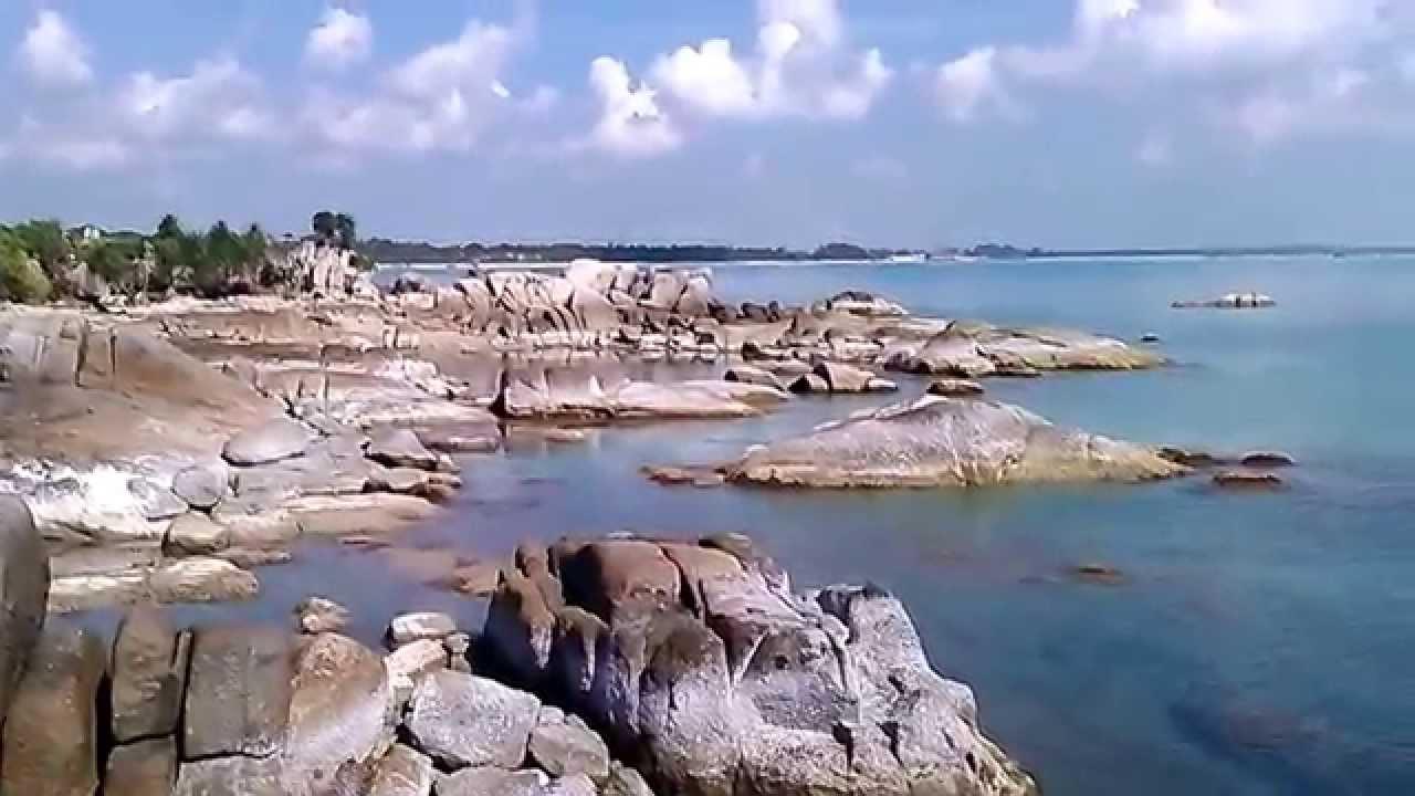 Keindahan Pantai Pulau Bangka Belitung Youtube