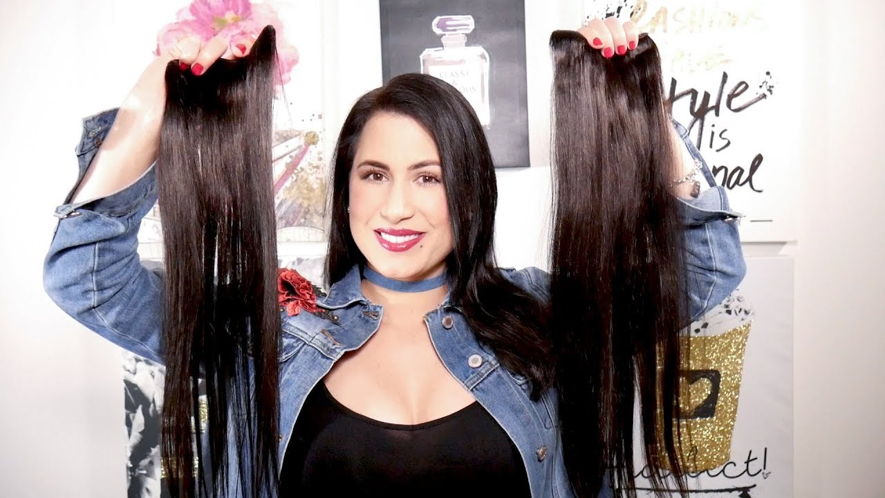 LUXY VS BELLAMI HAIR EXTENSIONS - YouTube dff33f2bcea1
