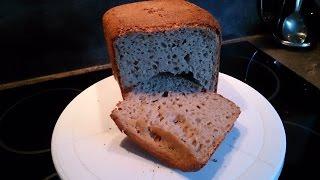 #Гречневый хлеб в хлебопечке #REDMOND RMB-M1907-E #Buckwheat bread
