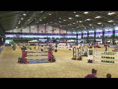 Showjumping - Jared Lunn - Scope 2014