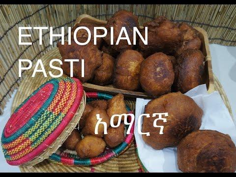 ★★ Ethiopian Pasti Recipe - Amharic አማርኛ Pasty Pastini