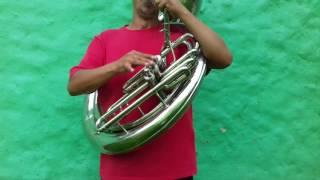 la escala cromática de DO para tuba/ El rey de la tuba