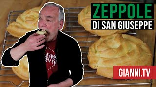 Zeppole di San Giuseppe, Italian Recipe - Gianni